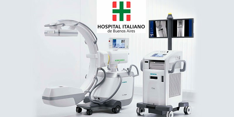 Instalación de un Cios Alpha, en el Hospital Italiano de Bs.As.