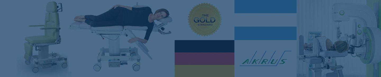 Sillas para procedimientos de Estereotaxia – AKRUS – Calidad Alemana Gold Standard –